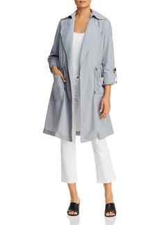 Kenneth Cole Open-Front Trench Coat