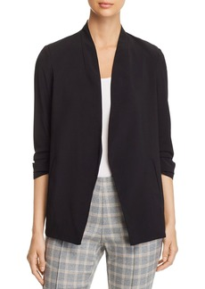Kenneth Cole Open Ruched-Sleeve Blazer