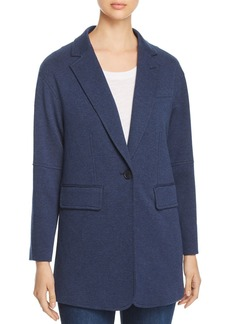 Kenneth Cole Oversized Knit Blazer