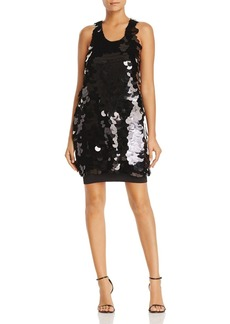 Kenneth Cole Paillette Dress