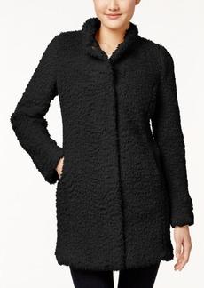 Kenneth Cole Petite Faux-Fur Coat