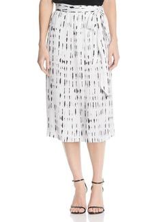 Kenneth Cole Pleated Midi Skirt