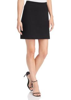 Kenneth Cole Ponte Paneled Skirt