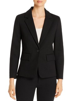 Kenneth Cole Ponte Single-Button Blazer