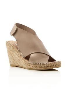 Kenneth Cole Quin Metallic Espadrille Wedge Sandals