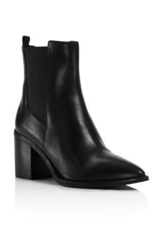Kenneth Cole Quinley Pointed Toe Block Heel Booties