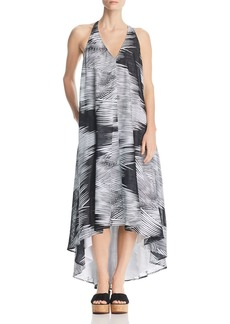 Kenneth Cole Racerback High/Low Maxi Dress