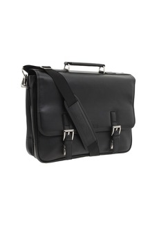 "Kenneth Cole ""A Brief History"" - 5"" Double Gusset Flapover Portfolio"