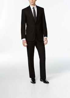 Kenneth Cole Reaction Black Slim-Fit Suit