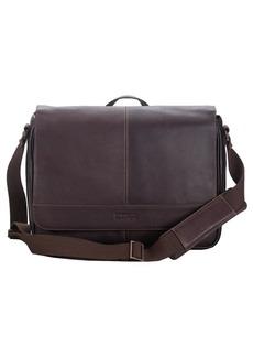Kenneth Cole REACTION Brown Leather Messenger Bag