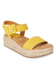 Kenneth Cole REACTION Calmwater Espadrille Platform Wedge Sandals