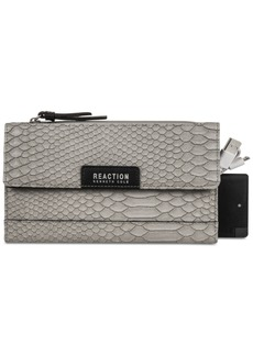 Kenneth Cole Reaction Continental Rfid Wallet with Portable Phone Charger