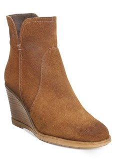 Kenneth Cole Reaction Dot-Ation Wedge Ankle Booties Women's Shoes