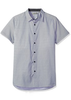 Kenneth Cole REACTION Men's Short Sleeve Signature Print
