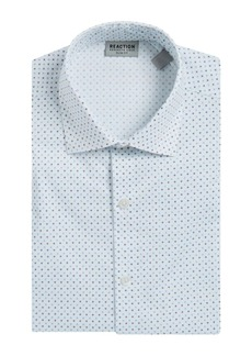 Kenneth Cole REACTION Geometric Print Flex Dress Shirt