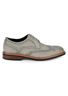 Kenneth Cole REACTION Klay Flex Leather Wingtip Shoes