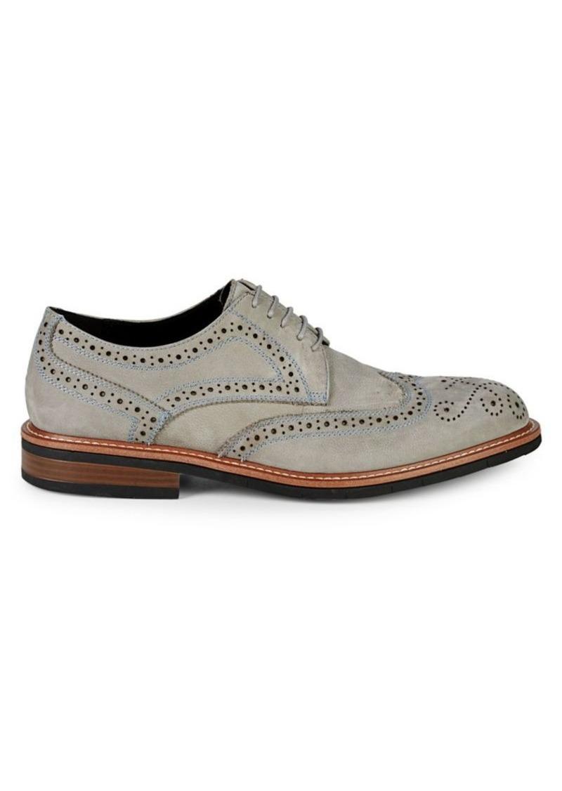 Kenneth Cole REACTION Klay Flex Leather Wingtip Shoes