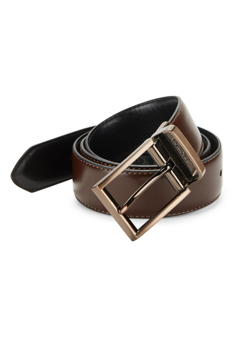 KENNETH COLE REACTION Leather Belt