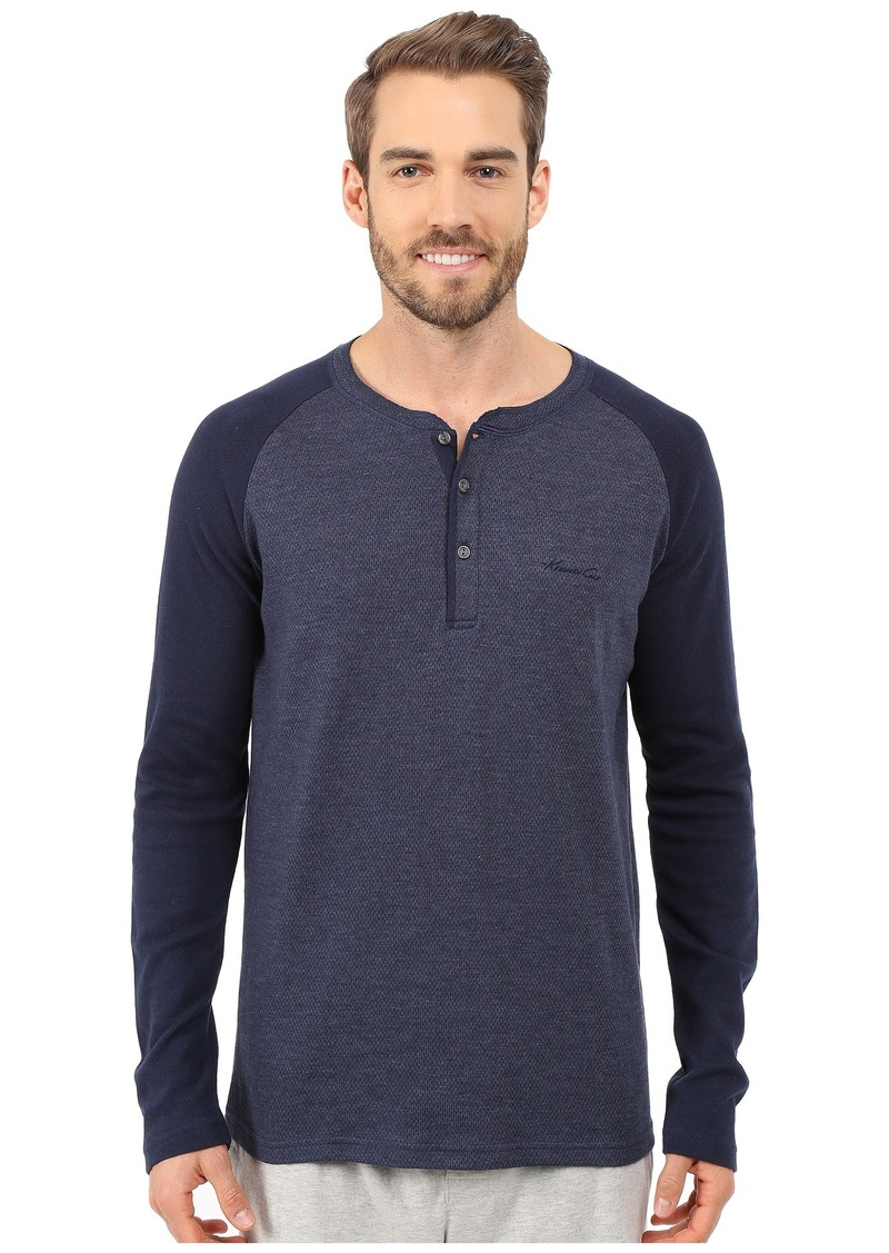 Kenneth Cole Reaction Long Sleeve Henley