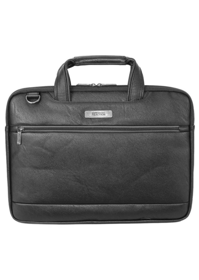 Kenneth Cole REACTION Long Way to Go Faux Leather Slim Computer Case