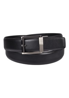 Kenneth Cole REACTION Men's 1.3 in. Wide Adjustable Trackless Perfect Fit Slide Belt black