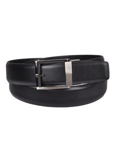 Kenneth Cole REACTION Men's 1.3 in. Wide Adjustable Trackless Perfect Fit Slide belt black