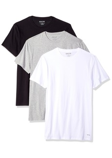 Kenneth Cole REACTION Men's 3 Pack Classic Fit Crew Neck Tee  S