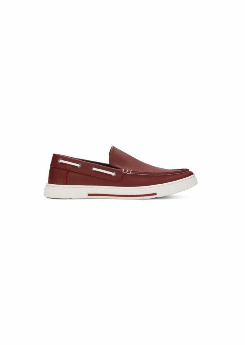 Kenneth Cole REACTION Men's ANKIR Slip ON B Sneaker red  M US
