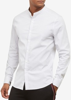 Kenneth Cole. Band Collar Shirt