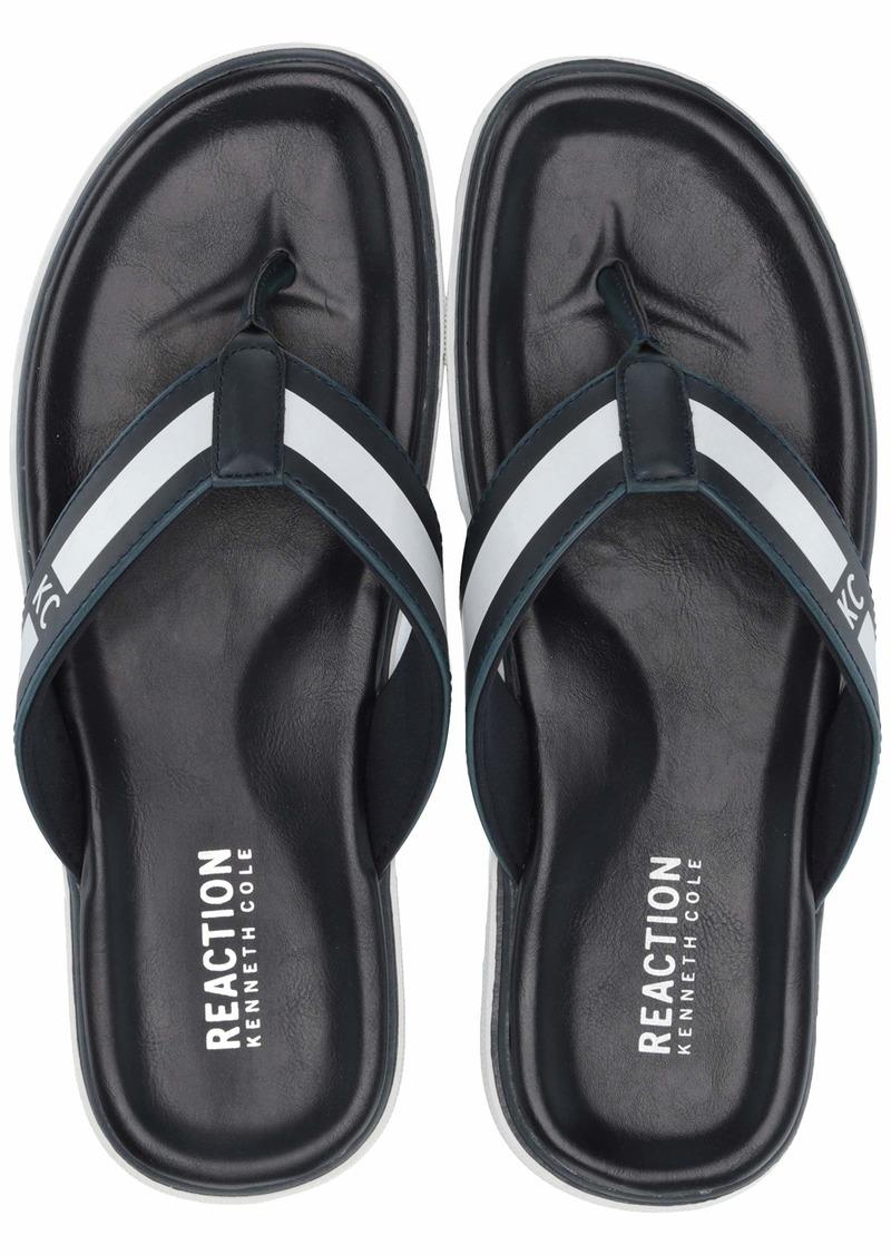 Kenneth Cole REACTION Men's Beach Sandal Flip-Flop   M US