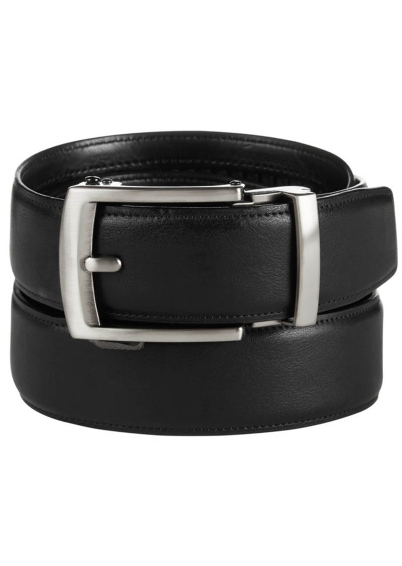 Kenneth Cole Reaction Men's Big & Tall Track Lock Casual Belt