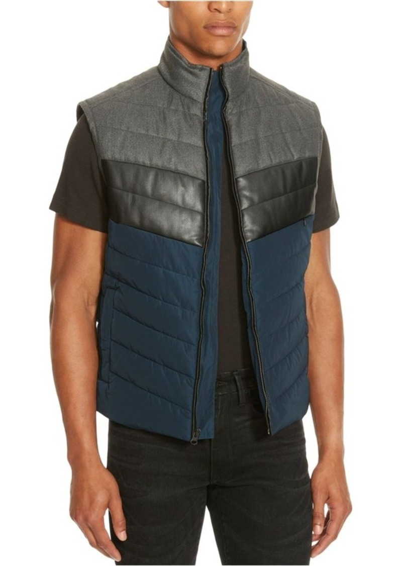 Kenneth Cole REACTION Men's Blocke Puffer Vest