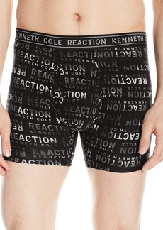 Kenneth Cole REACTION Men's Boxer Brief Kcr Logo Black