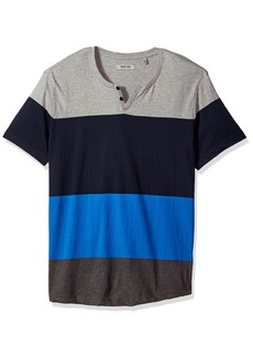 Kenneth Cole REACTION Men's Color Block Mini Henley
