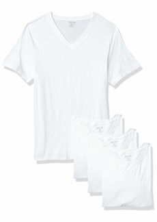 Kenneth Cole REACTION Men's Cotton Stretch V Neck T-Shirt  S