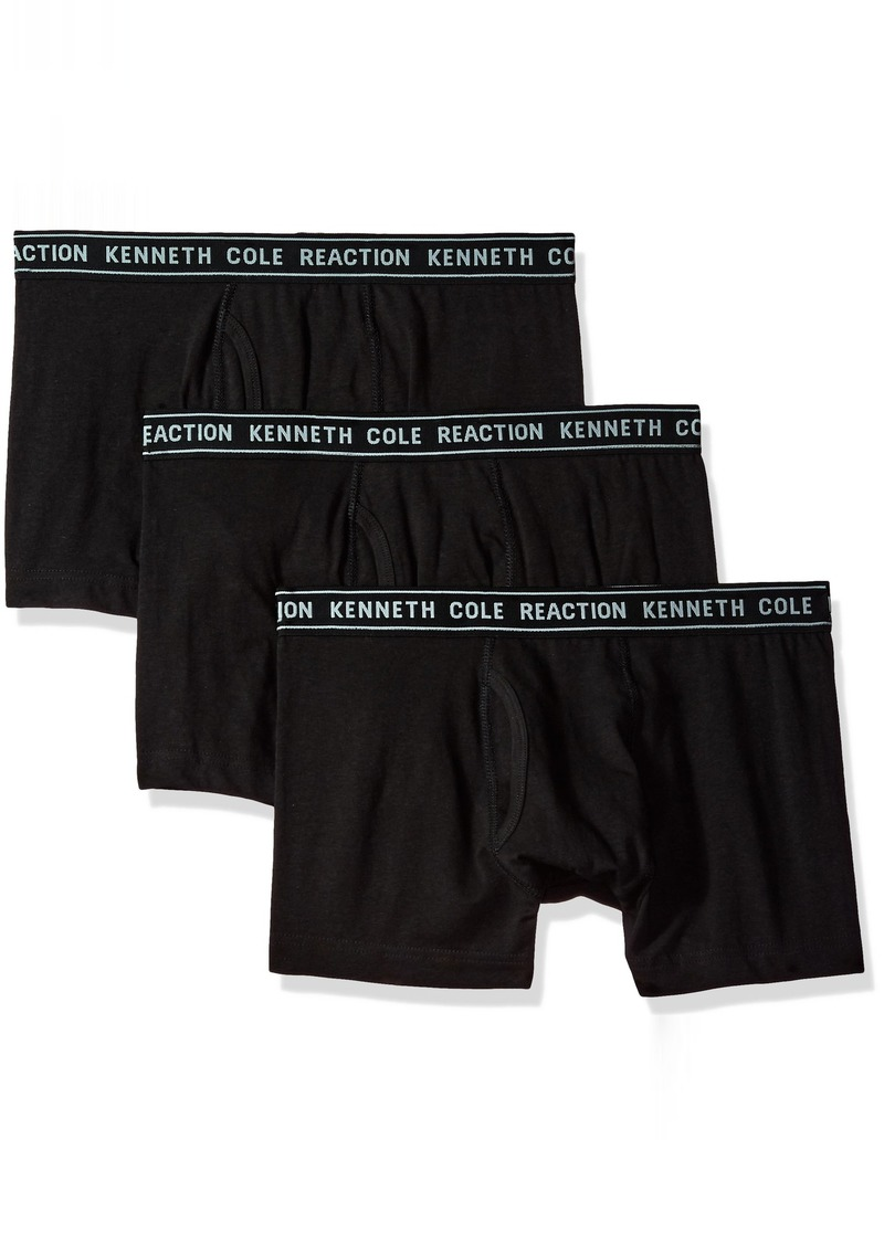 Kenneth Cole REACTION Men's Cotton tretch Trunk Underwear Multipack  mall