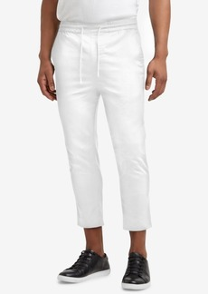 Kenneth Cole. Cropped Stretch Drawstring Pants