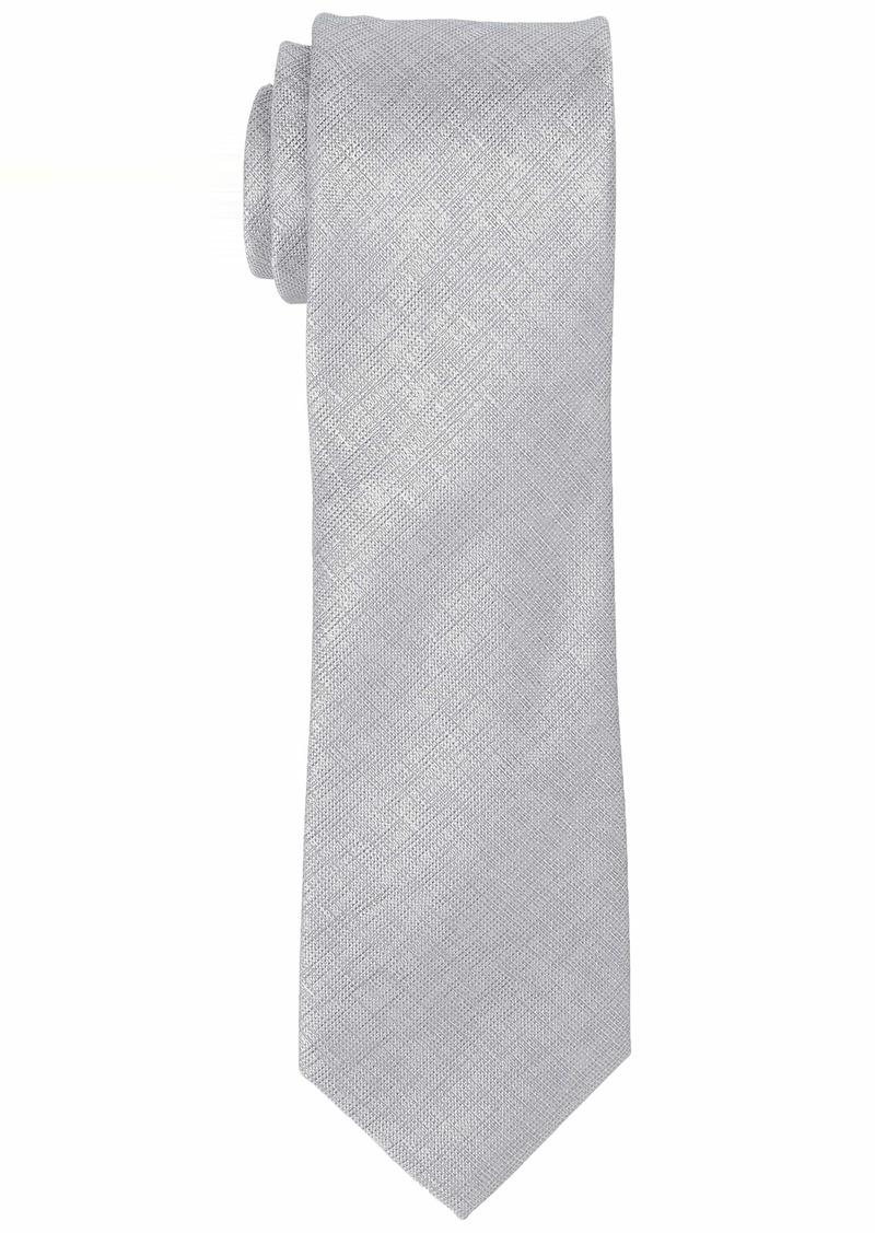 Kenneth Cole REACTION Men's Double Texture Solid Tie