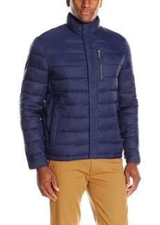 Kenneth Cole REACTION Men's Faux Down Packable Jacket