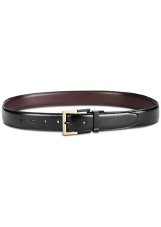 Kenneth Cole Reaction Men's Feather Edge Reversible Dress Belt