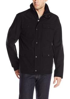 Kenneth Cole REACTION Men's Four Pocket Softshell Jacket