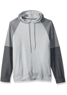 Kenneth Cole REACTION Men's French Terry Hoodie  L