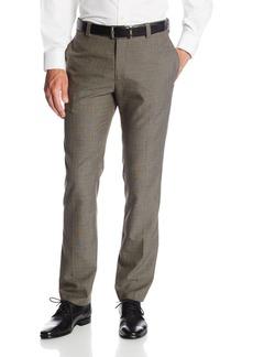 Kenneth Cole REACTION Men's Glen Plaid Slim Fit Flat Pant  36x30