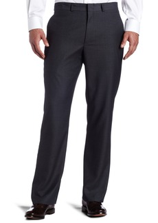 Kenneth Cole REACTION Men's Grey Solid Suit Separate Pant Gray 34x34