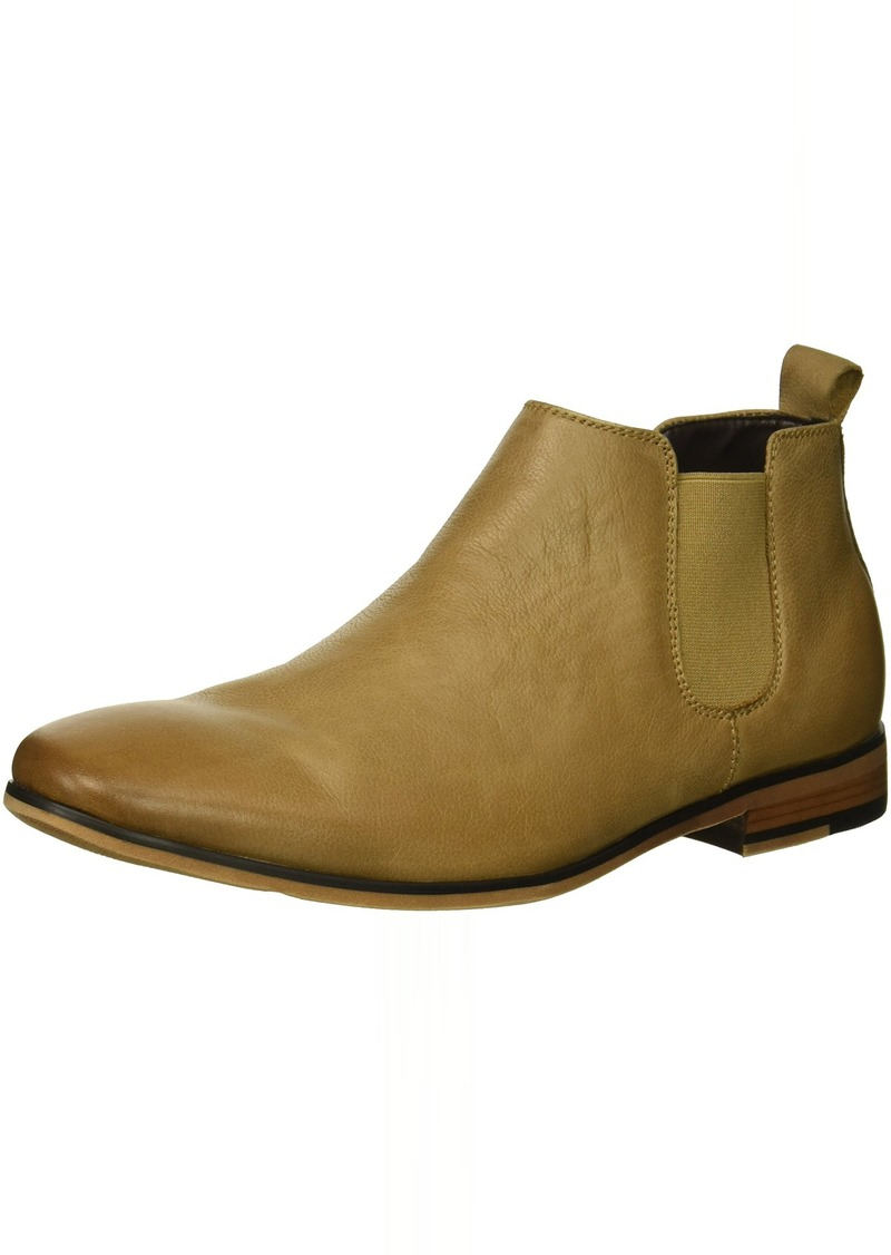Kenneth Cole REACTION Men's Guy Chelsea Boot tan  M US