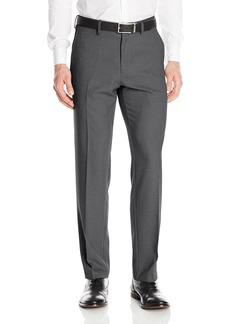 Kenneth Cole Reaction Men's Heather Stretch Modern Fit Flat Front Pant  31x32