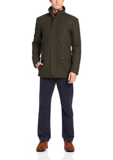 Kenneth Cole REACTION Men's Heathered-Wool Barn Jacket
