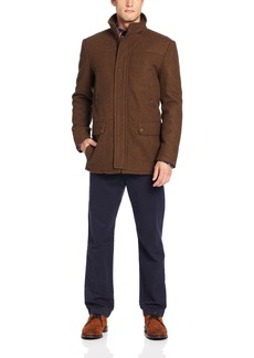 Kenneth Cole REACTION Men's Heathered-Wool Barn Jacket