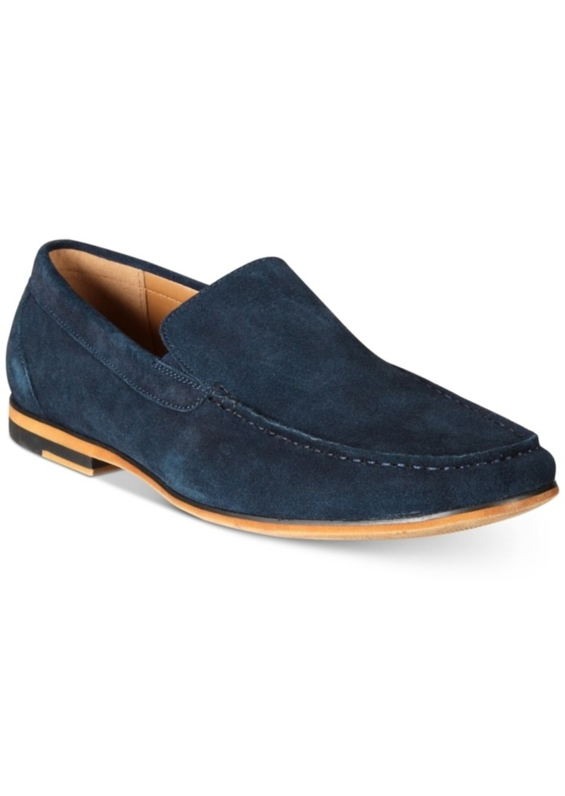 b14ca9bd620b Kenneth Cole Reaction Men s Integer Suede Moc-Toe Loafers Men s Shoes