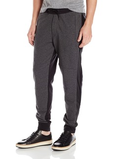 Kenneth Cole REACTION Men's Jogger Pant with Pleather  X-Large